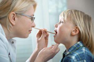 Ларингоспазм у ребёнка