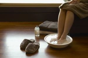 Пропаривание ног