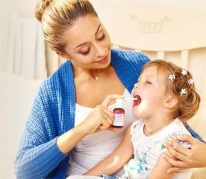 аквамарис для горла у детей
