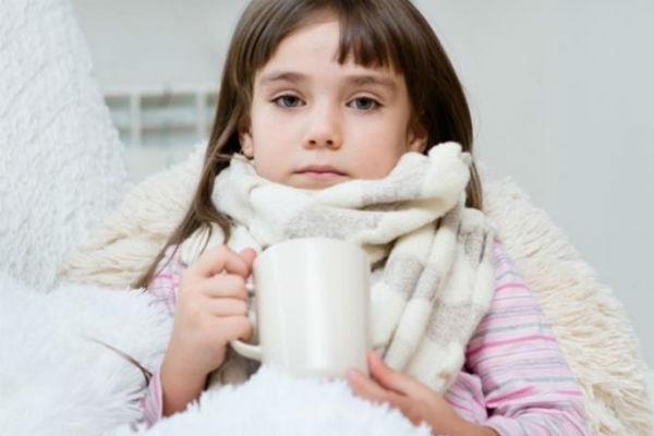 компресс на горло детям