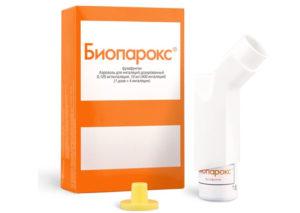 биопарокс при фарингите