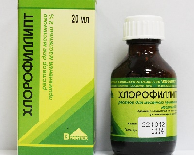 хлорофиллипт при ларингите