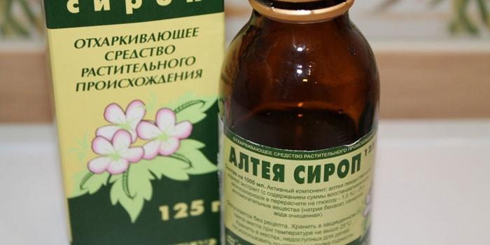 сироп алтея от кашля