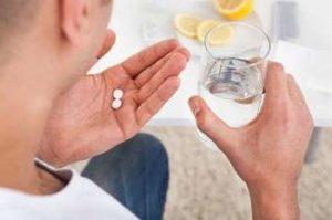 Прием антибиотиков для гланд