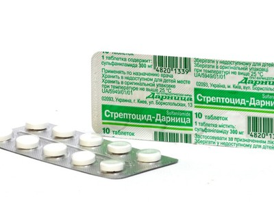стрептоцид в таблетках