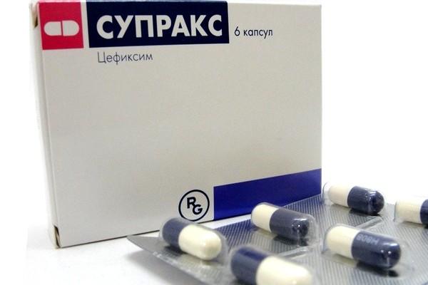 супракс таблетки