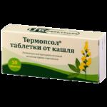 Таблетки от кашля термопсол: правила применения, эффективны или нет