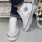 Лучшие способы чистки белой обуви Converse